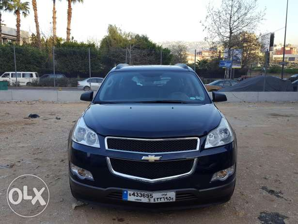 Chevrolet Travese 2010 Blue/Grey Company source & maintenance As New