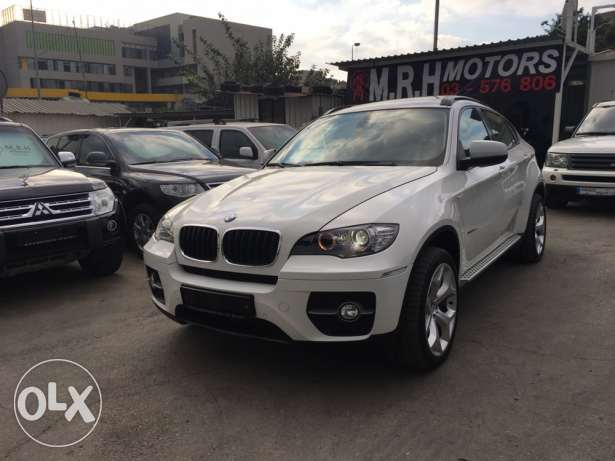 BMW X6 White 2011 Top of the Line in Excellent Condition! بوشرية -  6
