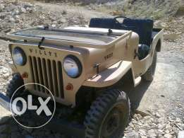 Jeep Willys CJB 1950