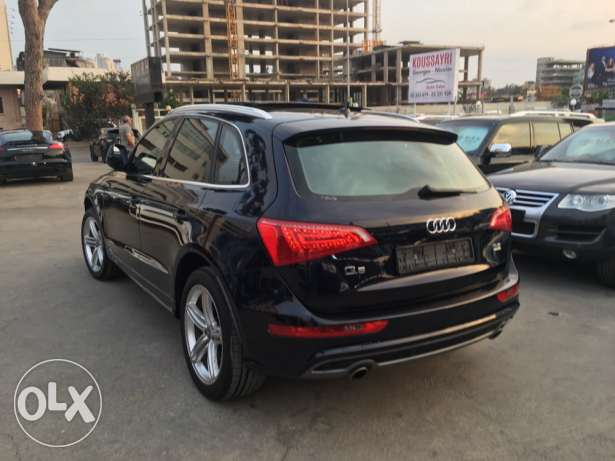 Audi Q5 S Line 2009 Blue Black Top of the Line in Excellent Condition! بوشرية -  3