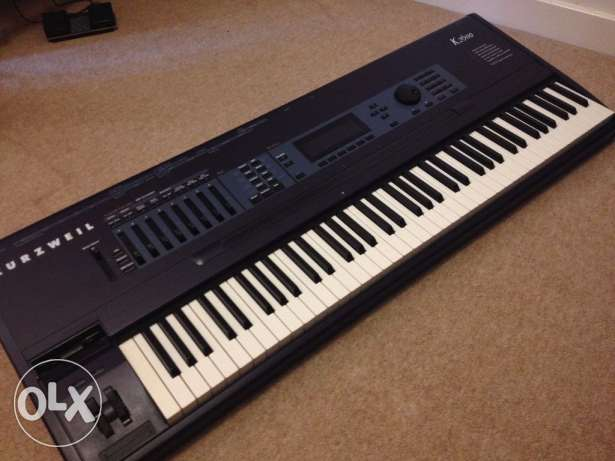 Amazing Synthesizer Kurzweil K2600 أشرفية -  1
