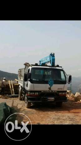 Pickup transport with crane to all regions أسعار مدروسة