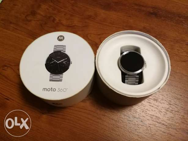 Motorola moto 360 stainless band 45mm generation 1