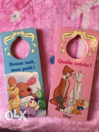 2 Disney french story book