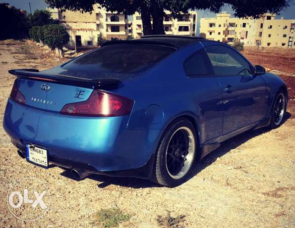 infinity g35 coupe mod 2003 technology verry clean car. الشوف -  4