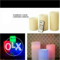Flameless Color Candle