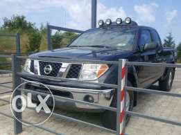 2005 nissan frontier black pickup vitesse 6eme nismo edition