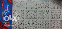 3D Christmas Nail Stickers