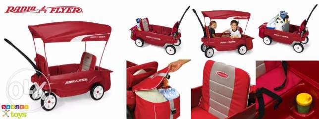 radio flyer ULTIMATE COMFORT WAGON for only 160$