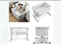 Chicco Next2me Side Sleeping Crib in excellent condition like new