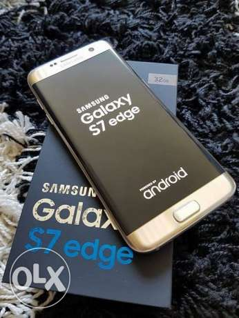 Samsung S7 Edge UNLOCKED Gold + Wireless charger