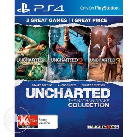 Uncharted-Nathan Drake Collection PS4 (not used)