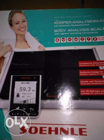 "body analysis scale "" Soehnle"""