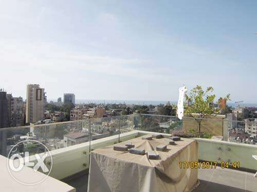 New Furnished Rooftop for Rent Mar Michael Ashrafieh