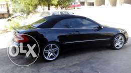 Benz CLK 500 Model 2004 Black
