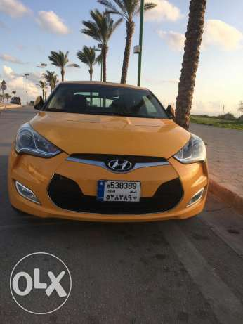 Veloster 2013 yellow