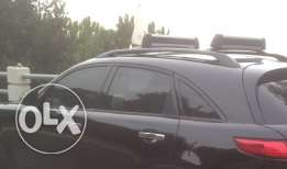 Fx front black windows