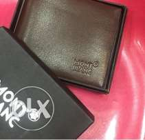 brown MontBlanc wallet for men