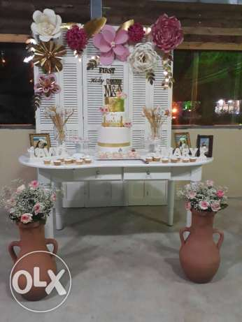Event decorating birthday bachelor party holy communion