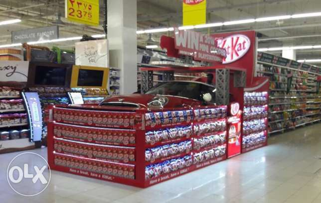 3D DESIGNER for your Supermarket stands and displays انطلياس -  7