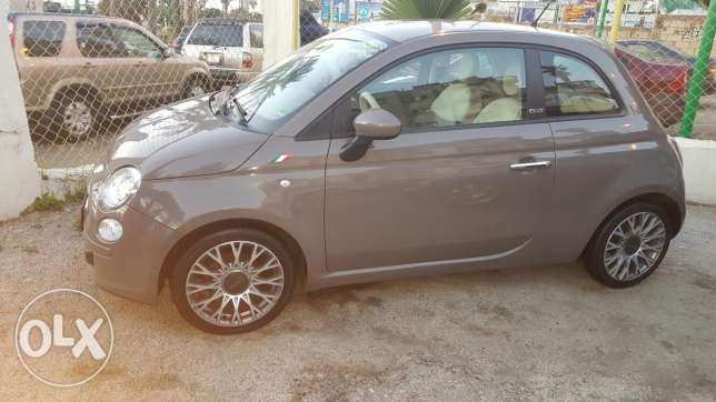 Fiat 500 cc 2009 full options tiptronic super clean low mileage تقسيط