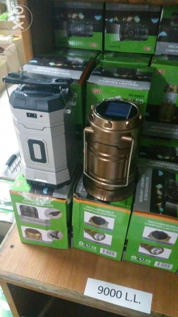 Rechargeable camping lantern recharger usb output for mobile