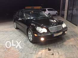 mercedes c240 model 2005 ajnabeye super clean full option 5ar2et nadaf