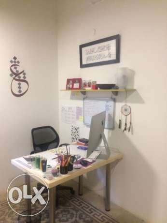 Desk in Shared Workspace for Rent