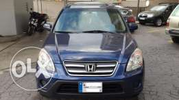 Honda CRV-Ex. Model 2005-Very clean-4 wheel Drive