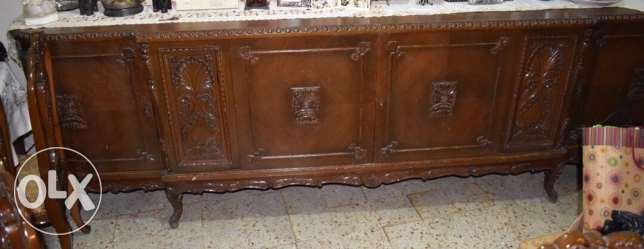 old antique dining table lal be3 aw tebdil 3a suv or car