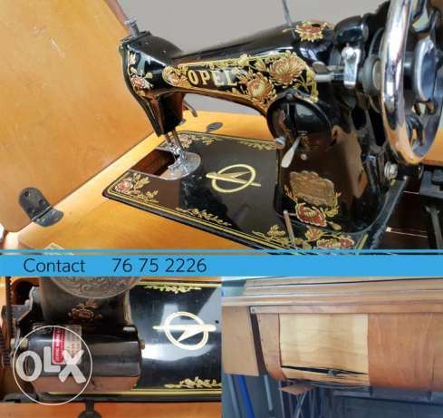 Opel Sewing Machine (works and can serve as a decorative puposes