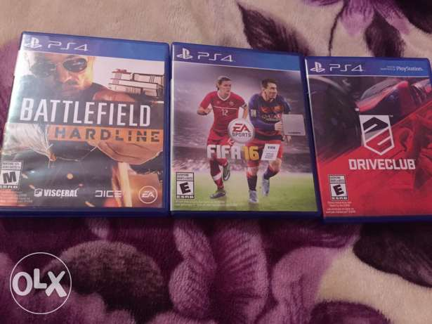 Ps4 cds just for sale حارة حريك -  1