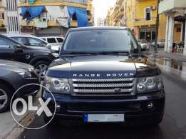 Range Rover Sport Supercharged 2009-Low Mileage 60000 Km-مصدر الشركة