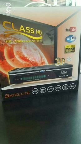 Satellite TV receiver wifi Internet