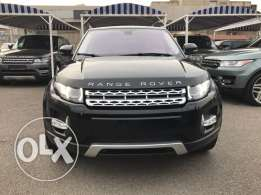 Range Rover Evoque Black on Brwon