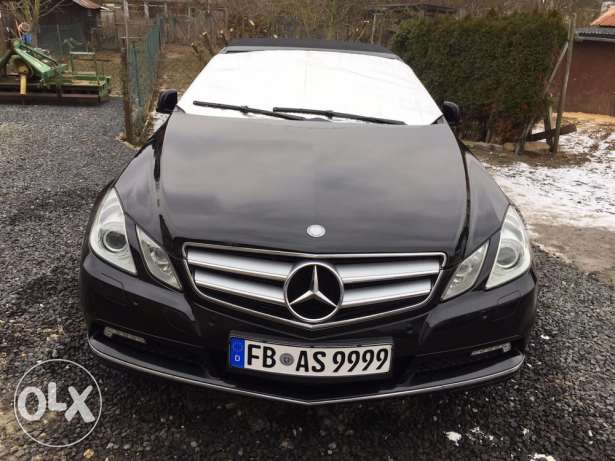 E200 Convertible fully loaded german car 2011