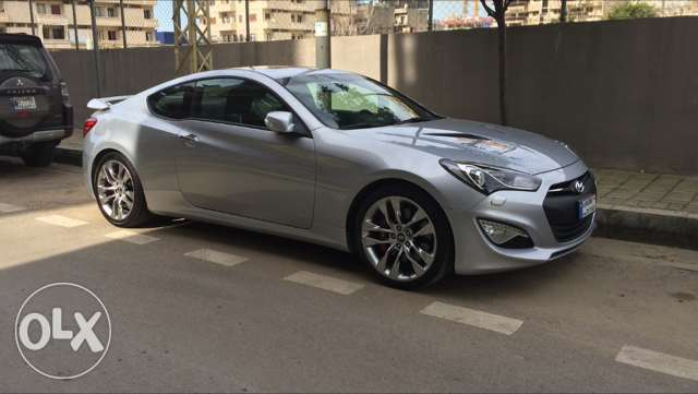 348hp Genesis Coupe 3.8/2013 - Cleanest certified pre-owned in Lebanon