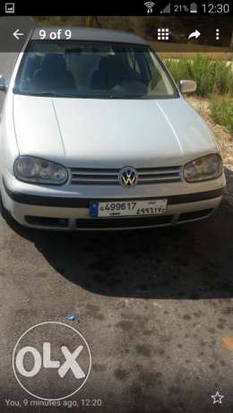 Golf 4 model 2000 . 2.0 L . Good condition . Second owner .