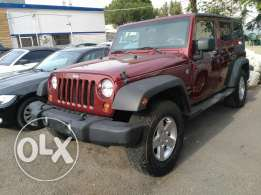 jeep wrangler 2010 full option 4x4 clean carfax