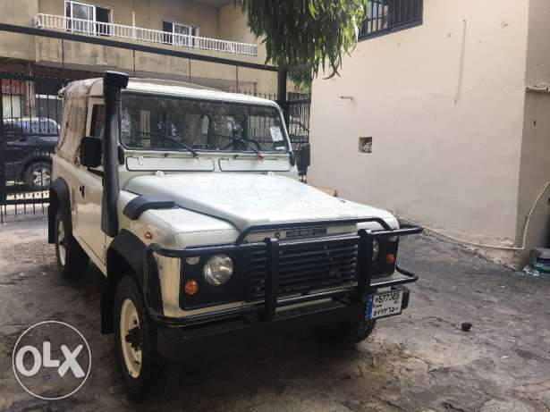 Defender Chassis 90 زغرتا -  2
