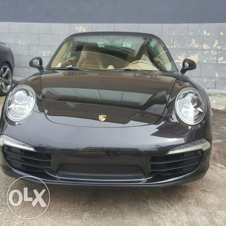 Carrera cabriolet black 2012