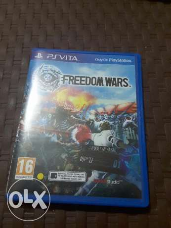 Freedom wars (Ps Vita) for trade ابو سمراء -  1