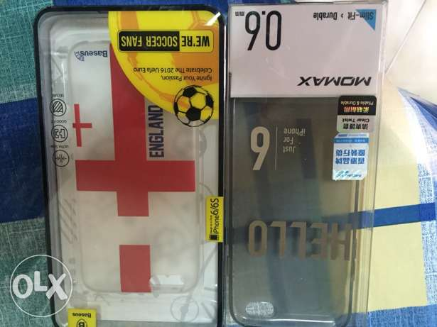 iphone 6 new covers never used very cheap price