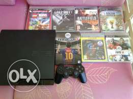 Ps3 with 7cds +gta 5