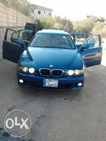 Bmw 530i model 2001 full option ma fe 3lyha shi bank kahrba w 6 box صور -  1