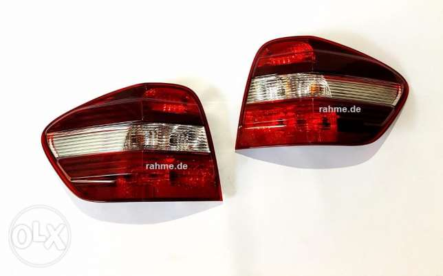 Mercedes Rear Lights Set left & right For M-W164 طقم ستوب ام ال مرسيدس