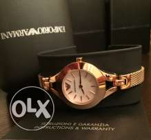 Authentic EA elegant rose watch for women (brand new valentine gift)