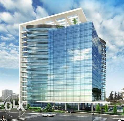 Qubic Center Horsh Tabet, 3 Offices for Rent - Sin El Fil