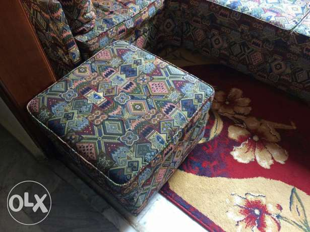 Couch + couch-stool