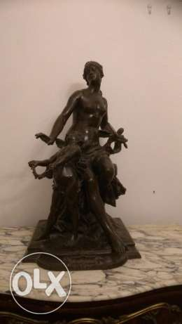 French Bronze Statute